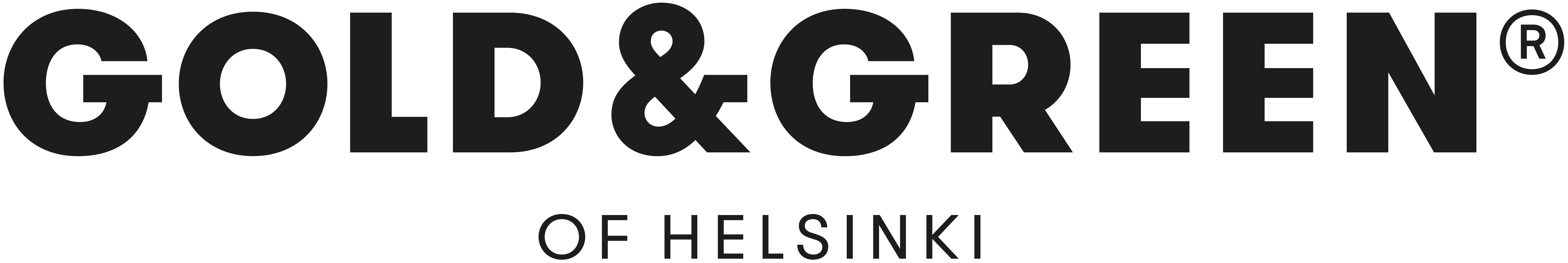 Gold and Green logo